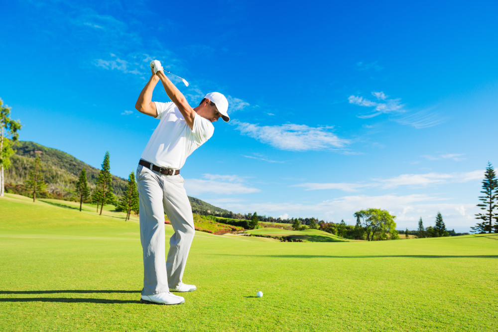 This summer Get that perfect Golf Swing